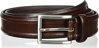 Florsheim Mens 32 Mm Leather Casual Belt, Brown, 36