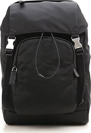 3dada925918d Prada Backpack for Men On Sale, Black, Nylon, 2017, one size