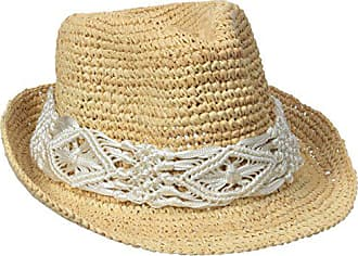 Physician Endorsed Womens Malia Crochet Raffia Sun Hat with Macrame Trim, Rated UPF 30 for Sun Protection, White, Adjustable Head Size