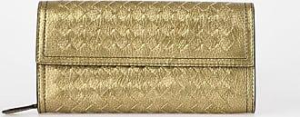 Bottega Veneta leather braided wallet size Unica