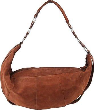 1584b9884a Saint Laurent Yves Saint Laurent Brown Suede Hobo Shoulder Bag