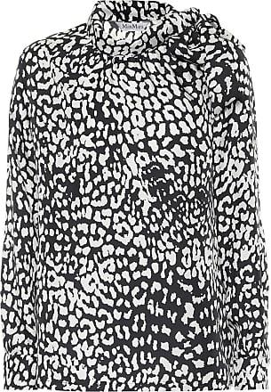 Max Mara Seta printed silk blouse