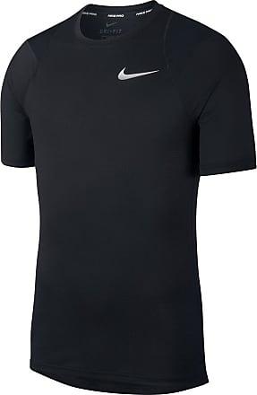 Nike Pro Breath Shortsleeve Top Bekleidung Herren schwarz