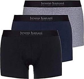 bruno banani herren unterhose boxer short pant ENERGY COTTON schwarz 3-er Pack