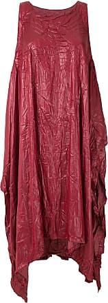Uma Vestido midi Barka - Vermelho