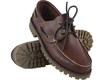 Zerimar Leather Boots | Nautical Mens Summer | Nautical Shoes Man | Moccasins Man | Large Sizes 46-50 Light Brown