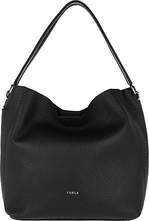 Furla Hobo Bags - Grace Medium Hobo Nero - black - Hobo Bags for ladies