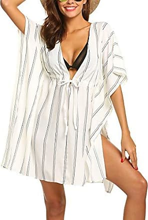 Übergröße Damen Trägerkleid Sommer Strand Bademode Cover Up Badekleid Tankkleid