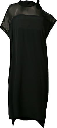 8pm cold shoulder shift dress - Black