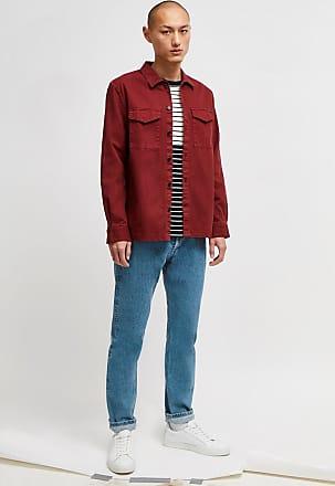 French Connection Garment Dye Herringbone Shacket