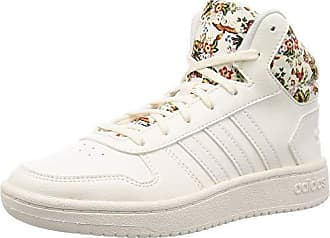Turnschuhe | Hoops 2 Mid Top Champagne|White adidas Damen
