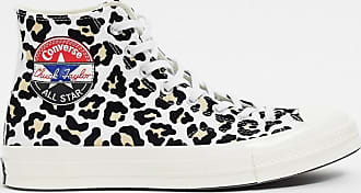 Converse Chuck 70 - Knöchelhohe Sneaker mit Leopardenmuster bedruckt-Braun
