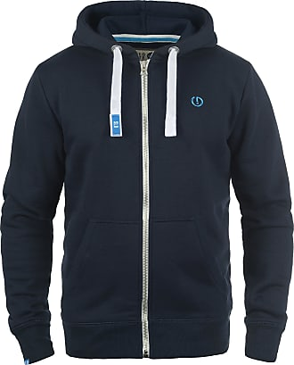 Solid BennZip Mens Hooded Jacket Zip, Size:L, Colour:Insignia Blue (1991)