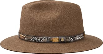 6526a056e4c Stetson Feather Trim Traveller Felt Hat by Stetson Felt hats