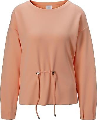 Madeleine Sweatshirt mit raffinierten Details in orange MADELEINE Gr 34, pfirsich für Damen. Elasthan, Polyester. Waschbar