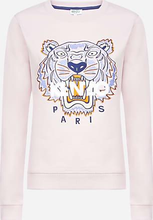 Kenzo Logo-tiger cotton sweatshirt - KENZO - woman