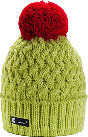 morefaz Unisex Women Girls Winter Beanie Hat Wool Knitted Cookie with Pom Pom Cap SKI Snowboard Hats (Olive)