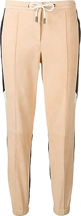 Yves Salomon - Army two-tone sports trousers - NEUTRALS