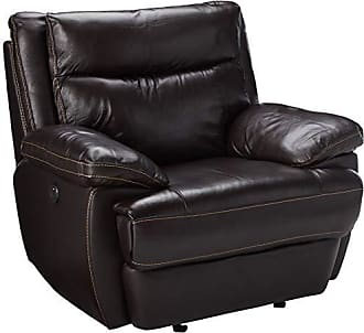 Coaster Fine Furniture Coaster MacPherson Casual Brown Power Recliner with Built-In USB Charging Port