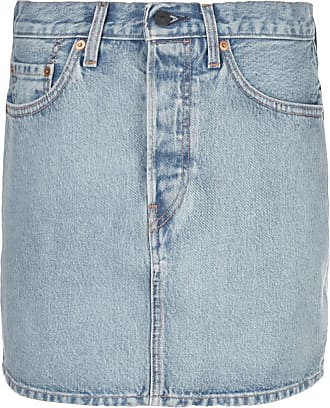 Wardrobe.NYC Minissaia jeans x Levis - Azul