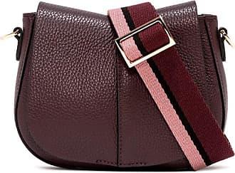 Gianni Chiarini small size helena round crossbody bag color burgundy
