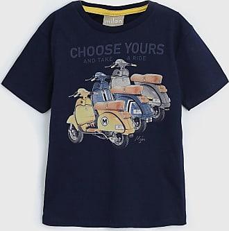 Milon Camiseta Milon Infantil Moto Azul-Marinho