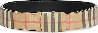 Burberry Vintage Check E-canvas Belt - NEUTRALS