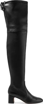 Stuart Weitzman Kirstie Leather Over-the-knee Boots - Black