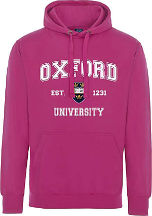 Oxford University Harvard Style Hoodie - Heliconia - 2XL