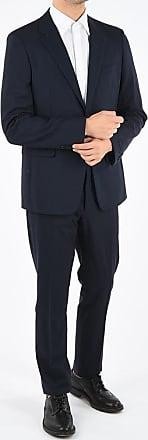 Prada center vent graph check 2-button suit size 54