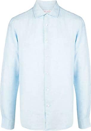 Orlebar Brown Camisa Giles mangas longas - Azul