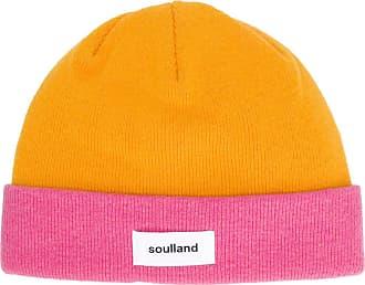 Soulland Gorro Villy color block - Amarelo