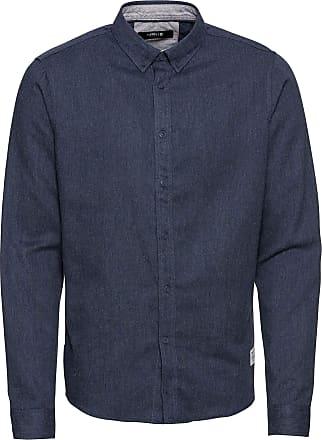 Solid Juan Mens Shirt in Various Colours - Blue - Medium