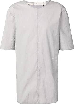 Damir Doma Camiseta longa - Cinza