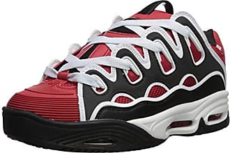 747a04dcfea631 Osiris Mens D3 2001 Skate Shoe, red/Black/White, 8 M US