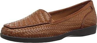 Easy Spirit Womens Devitt8 Square Toe Loafers, Medium Brown, Size 10.0 US / 8 UK US