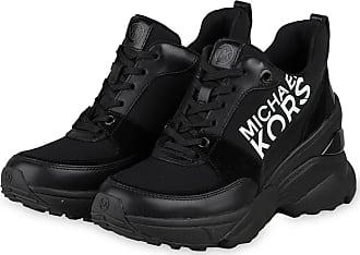 Michael Kors Plateau-Sneaker MICKEY - SCHWARZ