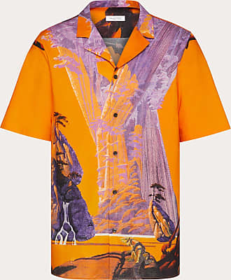 Valentino Valentino Uomo Camicia M/c Yellow City Uomo Fantasia Cotone 100% 50