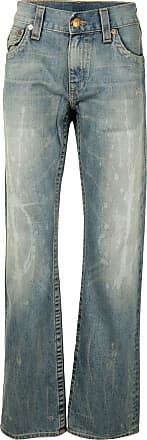 True Religion Calça jeans com efeito desbotado - Azul