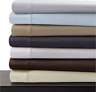 Marwah Corporation Marwah Corp Egyptian Cotton 600 Thread Count Pillowcase Set King Silver Grey