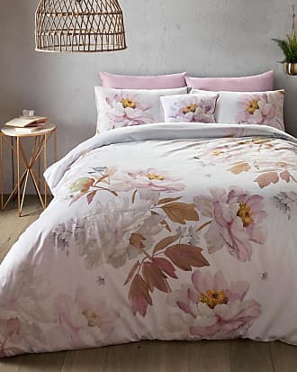 Ted Baker Butterscotch Grey King Size Duvet Cover in Pink SCOCH, Home