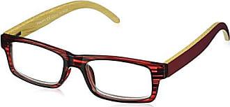 Peepers Unisex-Adult Sierra 2365300 Rectangular Reading Glasses, Burgundy, 3