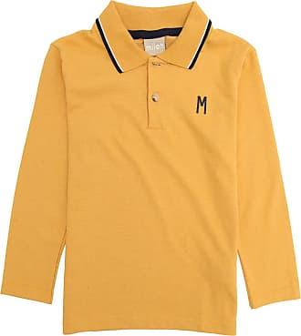 Milon Camisa Polo Milon Infantil Amarela