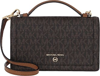 Michael Kors Cross Body Bags - Jet Set Charm Small TH Phone Crossbody Brown Acorn - brown - Cross Body Bags for ladies
