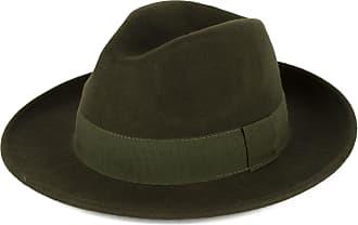 Hat To Socks Elegant Khaki Wool Fedora Hat Waterproof & Crushable Handmade in Italy