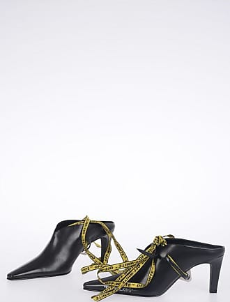 Off-white Mules FOR WALKING in Pelle 8 cm taglia 36