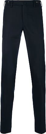 PT01 fitted tailored trousers - Blue