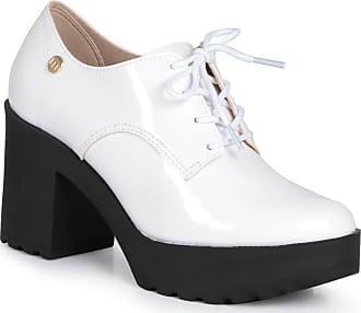 Moleca Sapato Feminino Oxford Moleca Robusto