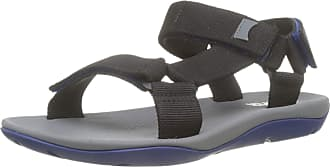 Camper Mens Match Open Toe Sandals, Black (Black 1), 5.5 UK