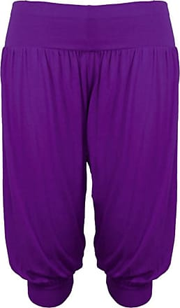 21Fashion Women 3/4 Hareem Ali Baba Loose Baggy Trousers Pants Ladies Crop Shorts Leggings